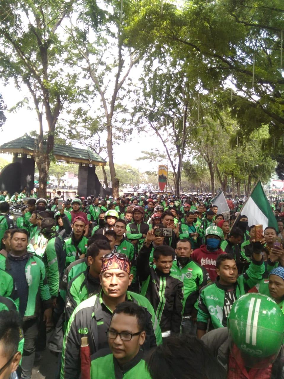 15 Januari, 200 Komunitas Ojol Medan Turun Aksi