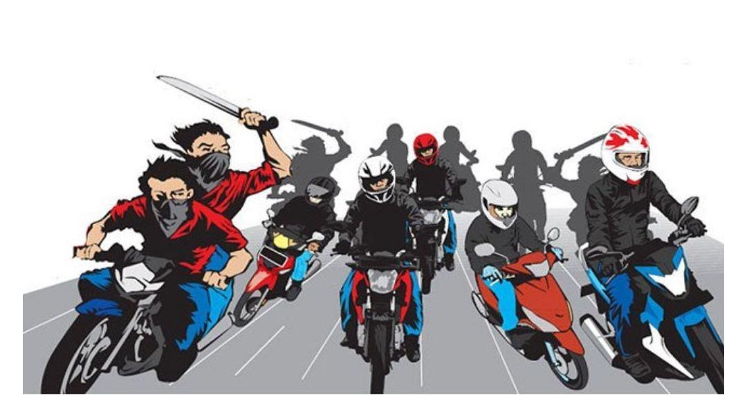 Setelah Begal, Genk Motor Kembali Berulah di Medan