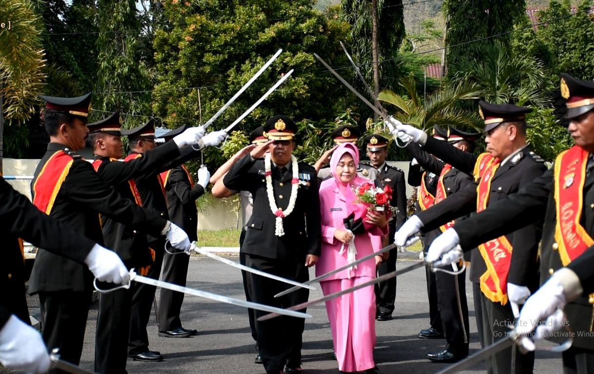 Kapolres Banjar, Pimpin Sertijab Kapolsek Masuk Masa Pensiun