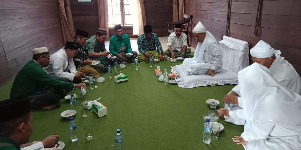 NU Langkat, Silaturahmi ke Tuan Guru Babussalam