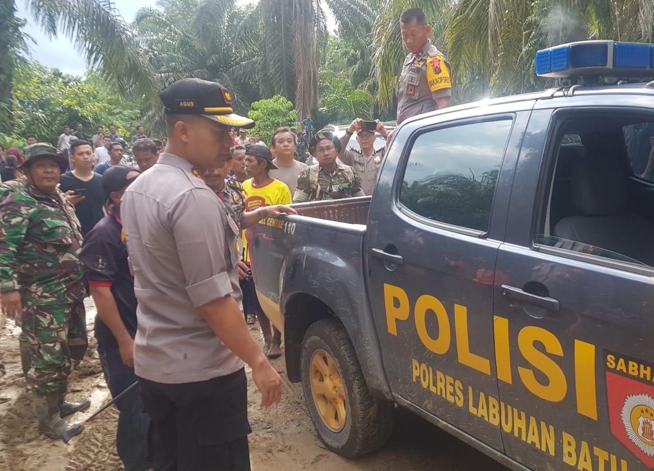 Banjir Bandang di Labura, Dua Mayat Ditemukan
