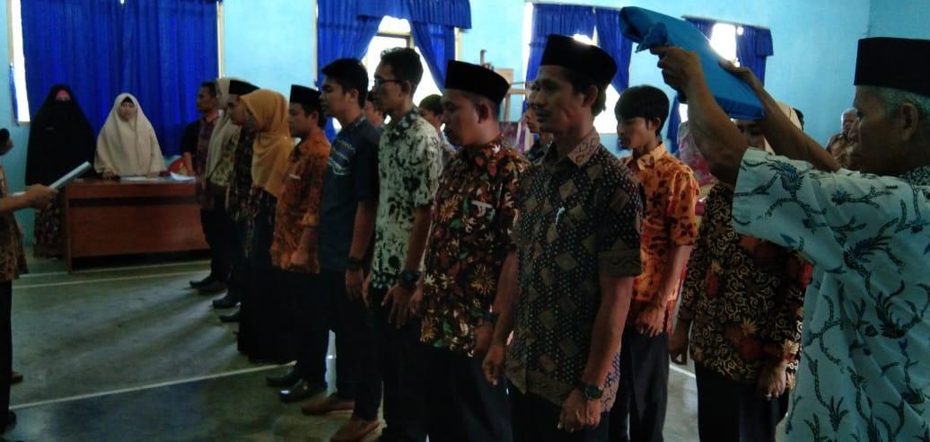 Pilkades Serentak 2020, BPD Sukahurip Lantik Panitia Pemilihan Kepala Desa