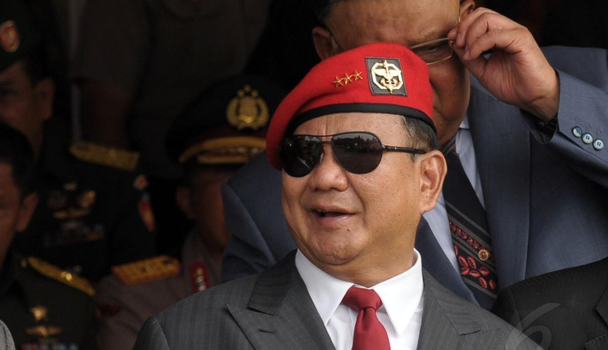 Paradoks Prabowo Subianto