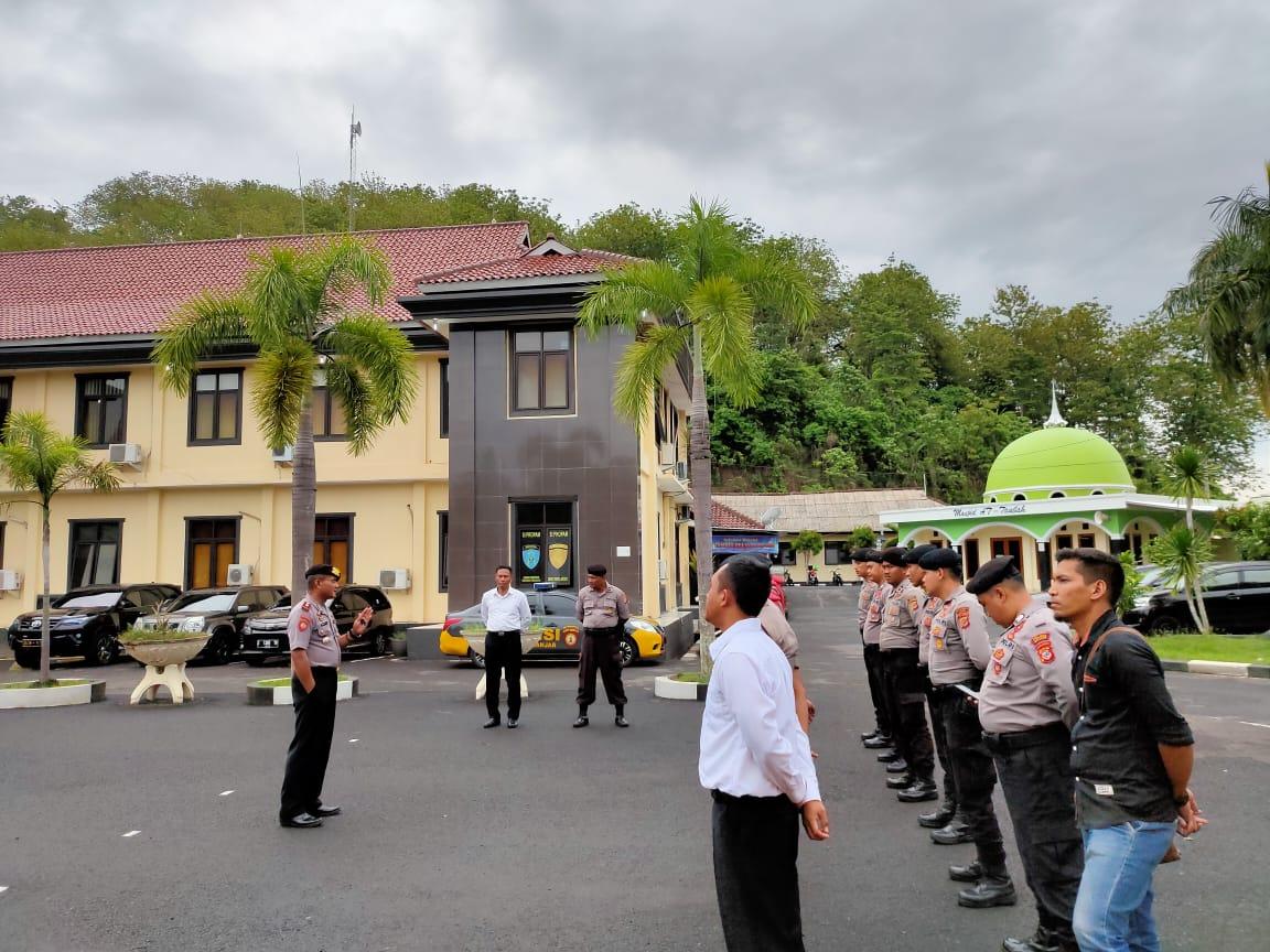 Polres Banjar, Apel Kesiapsiagaan Penanggulangan Bencana