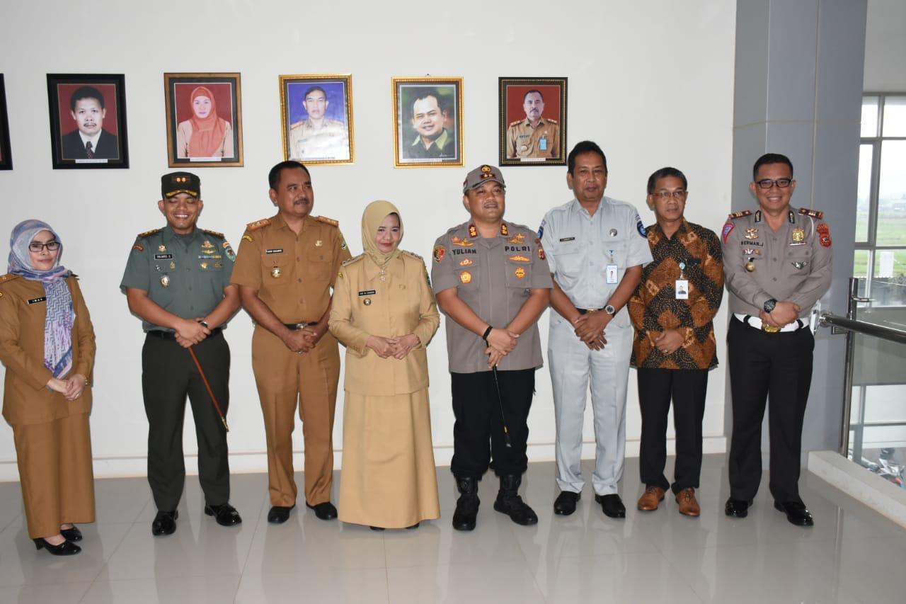 Kapolres Banjar, Hadiri Tasyakur Binni'mah Gedung P3D Kota Banjar