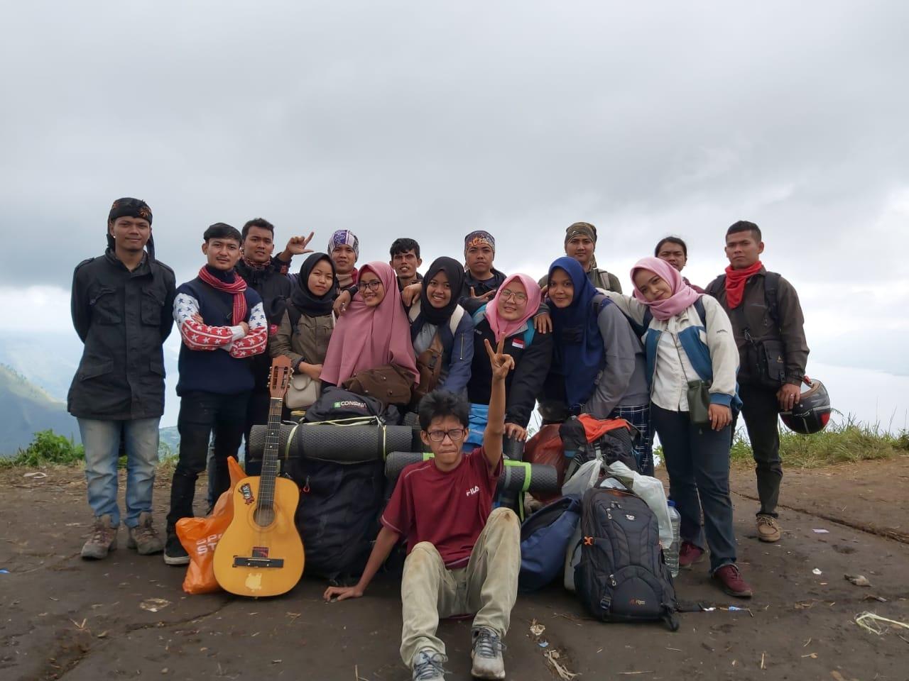 Komunitas Tenda Ilmu Launching di Bukit Gajah Bobok
