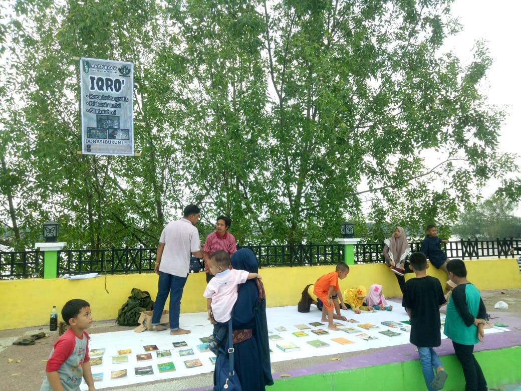 HMI Komisariat Justicia UNA, Kampanyekan Budaya Membaca di Asahan