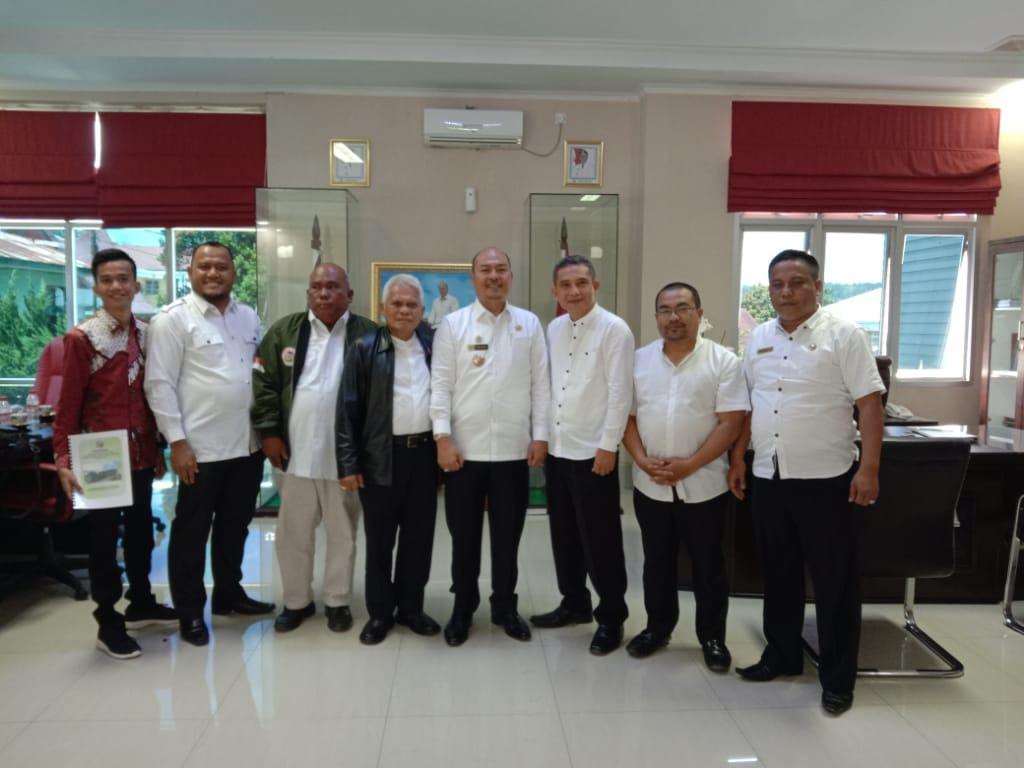 Universitas Negeri Tapanuli Raya, Perhimpunan Bravo 5 Sumut dan Bupati Taput Sepakat Mendorong Percepatannya