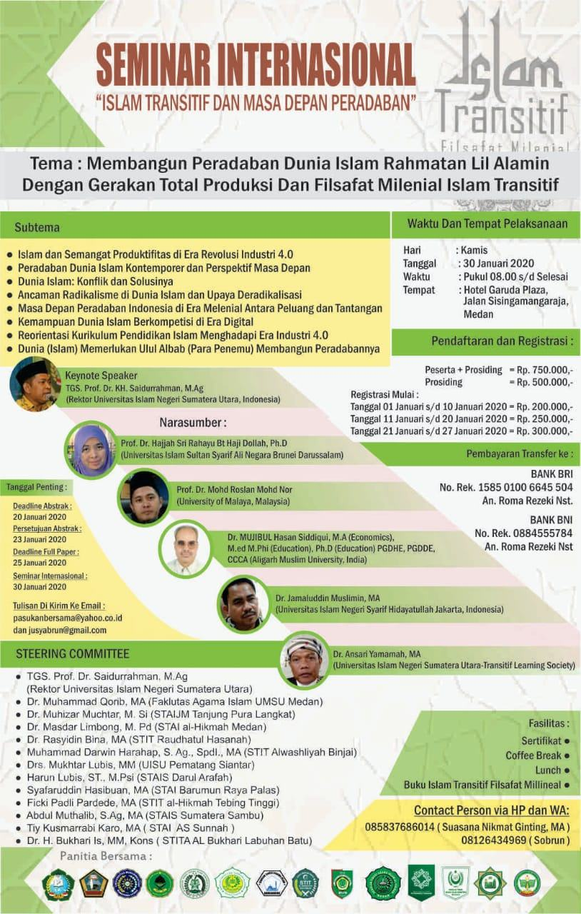 Seminar Internasional Islam Transitif
