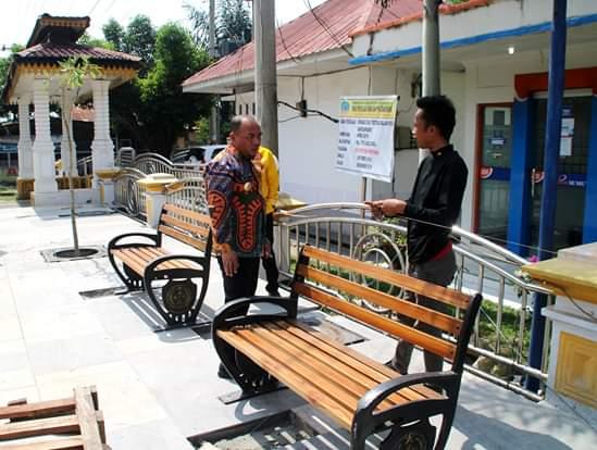 Bupati dan Sekda Labuhanbatu, Tinjau Rehabilitasi Trotoar dalam Kota Rantauprapat