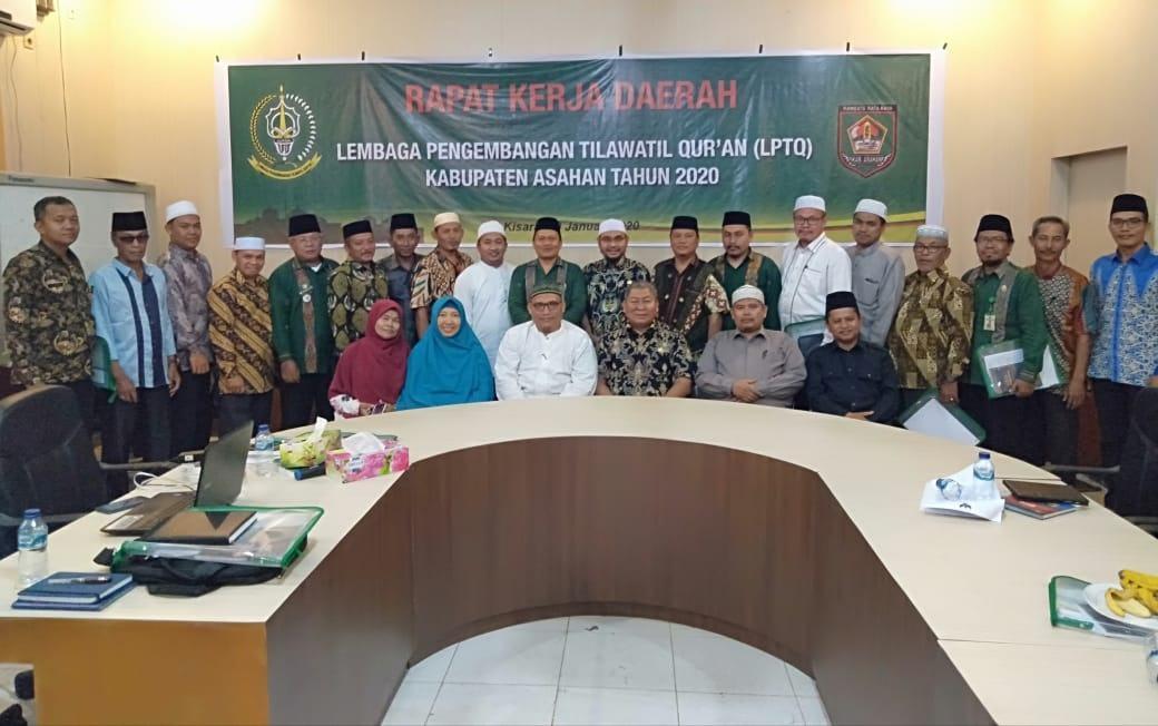 LPTQ Kabupaten Asahan, Adakan Rapat Kerja