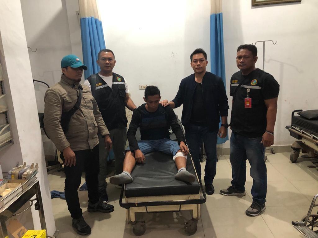 Pria Asal Aceh, Dihadiahi Polisi Timah Panas Bawa Sabu Dalam Sepatu