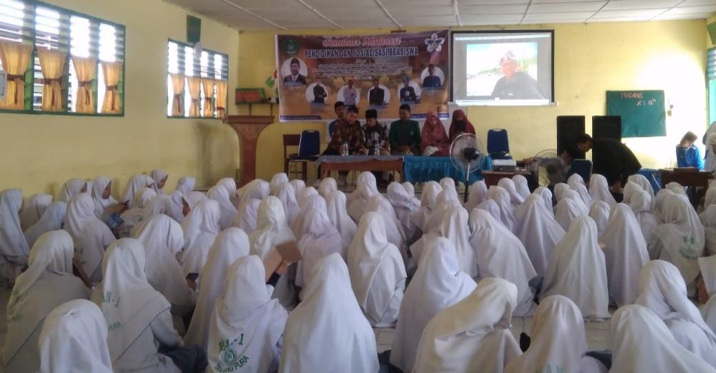 OSIM MAN 1 Langkat, Adakan Seminar Motivasi Pendidikan dan Sosialisasi Beasiswa