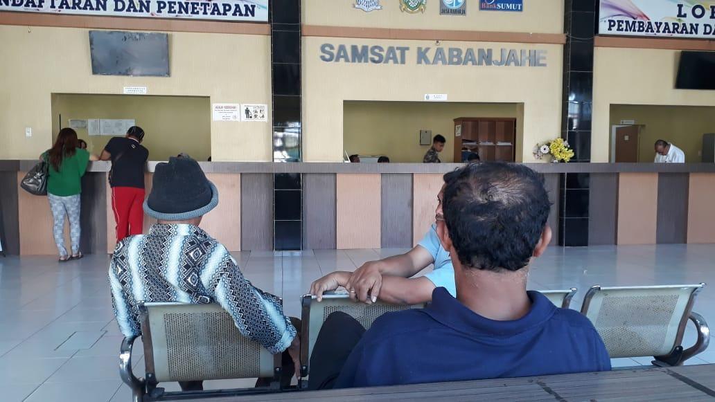 Masyarakat Karo, Kecewa dengan UPT Samsat Kabanjahe