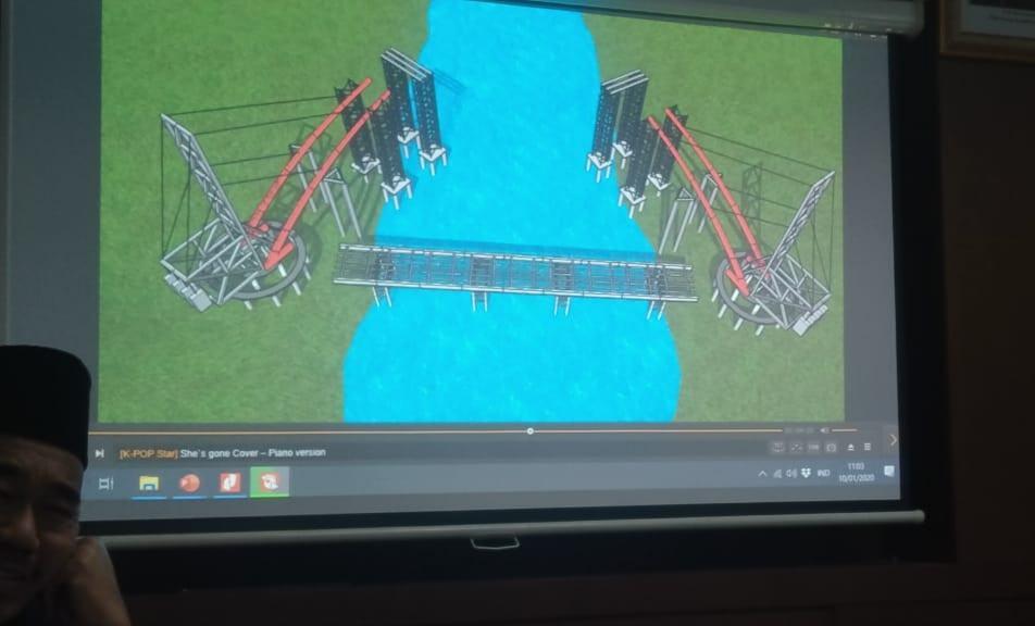 Jembatan Sei Wampu Langkat Mangkrak, Mistisnya Kuat