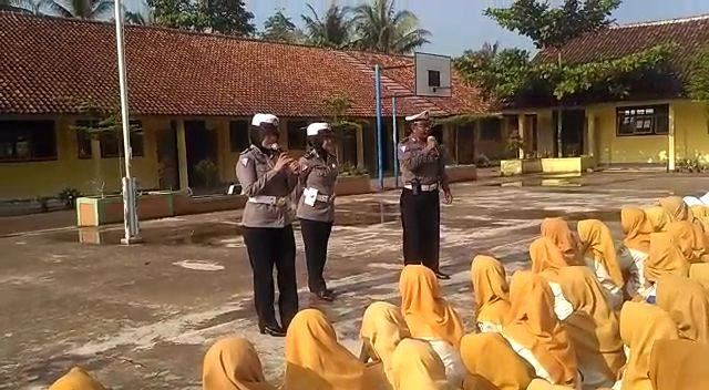 Polres Banjar, Gencar Laksanakan Kegiatan Police Goes To School