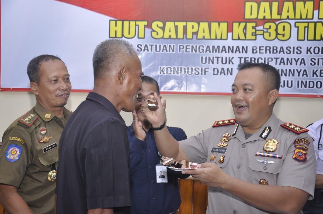 Polres Banjar, Laksanakan Upacara Hari Kesadaran Nasional dan HUT Satpam ke-39