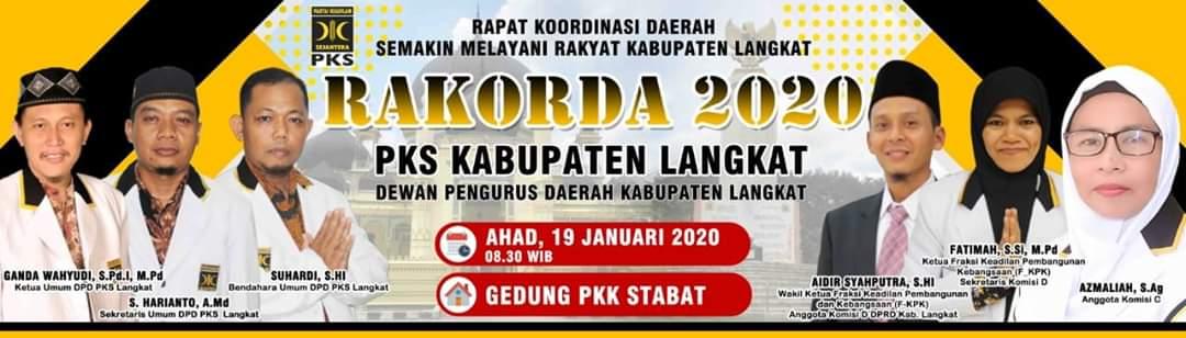 DPD PKS Langkat, Undang Kader dan Simpatisan di Rakorda