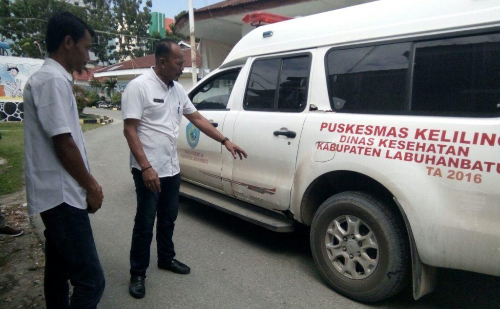 Kadis Kesehatan Labuhanbatu, Tegaskan Merawat Ambulance Fasilitas Daerah