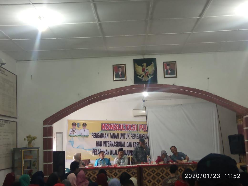 Warga Kuala Tanjung, Tak Mau Janji Manis soal Pengadaan Tanah