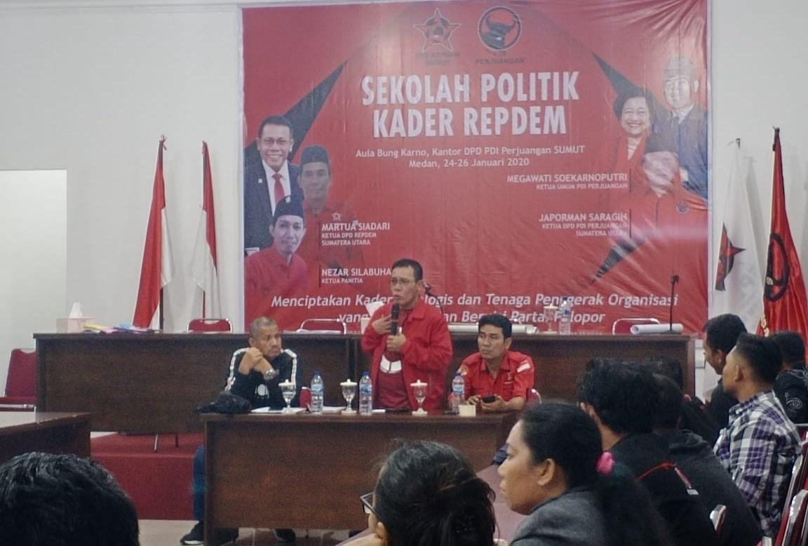 Sekolah Politik Kader Repdem, Kader Harus Berani