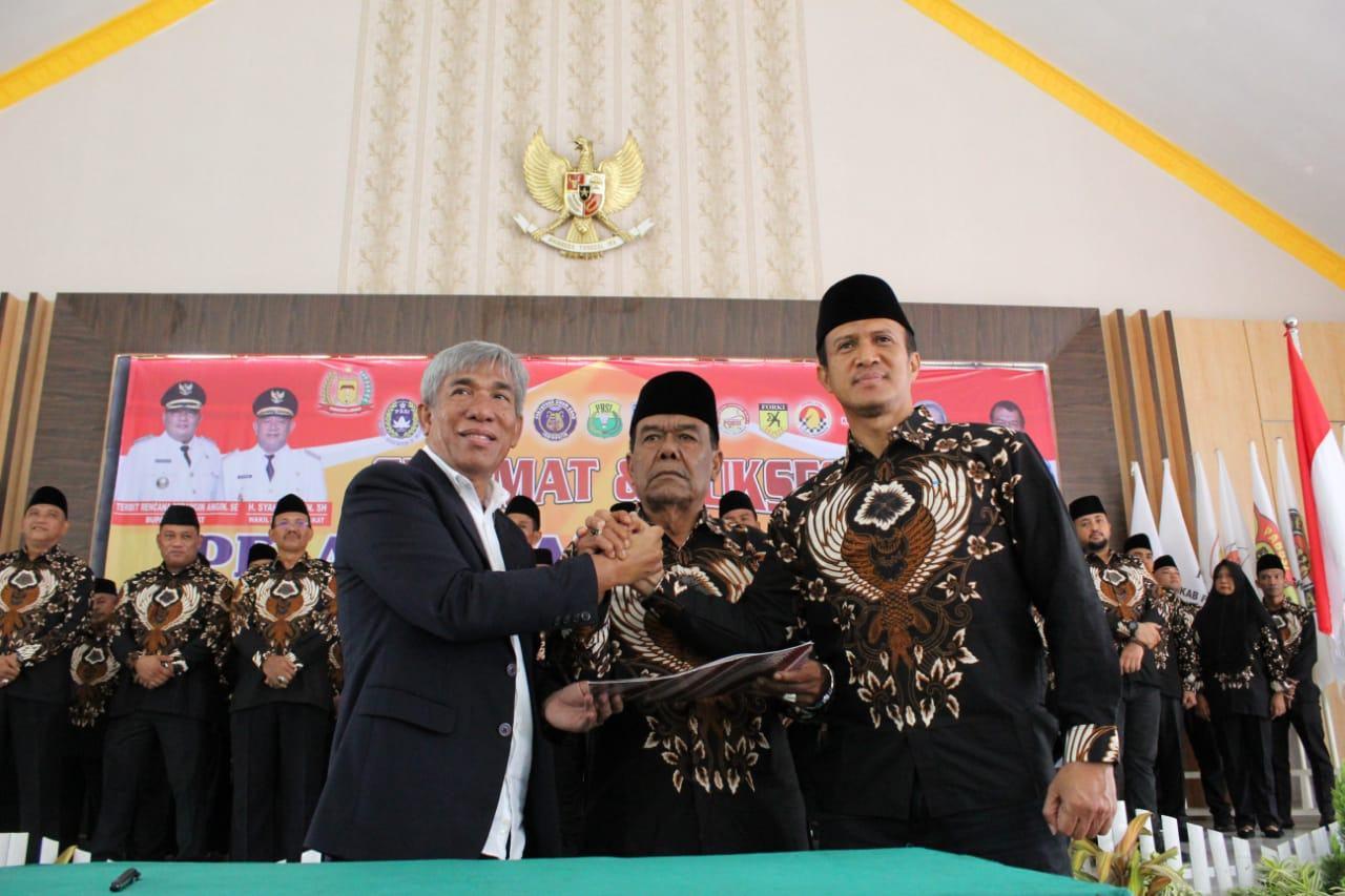 Kepengurusan KONI Langkat Periode 2019-2023 Dilantik