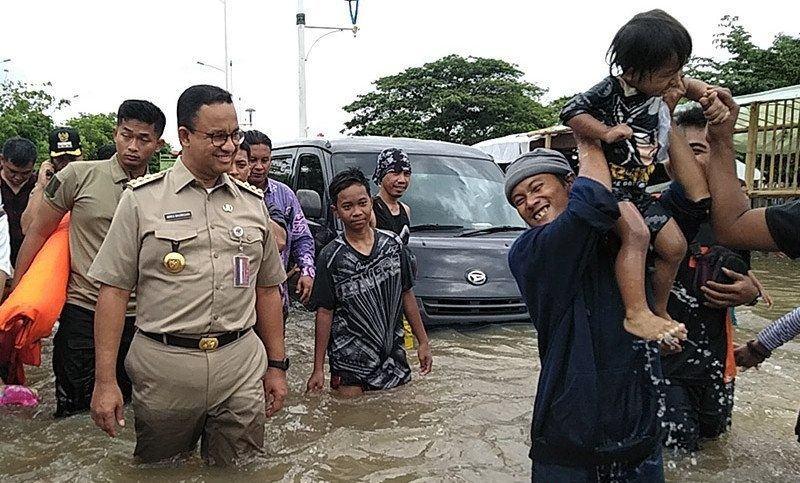 Resmi, Ratusan Warga DKI Korban Banjir Gugat Anies Baswedan
