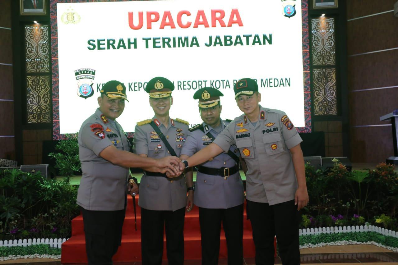 Kapolda Sumut, Tanam Pohon Usai Sertijab Kapolrestabes Medan