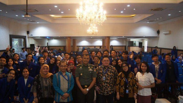 Prodi Hubungan Internasional UNIKOM, Selenggarakan Kuliah Umum