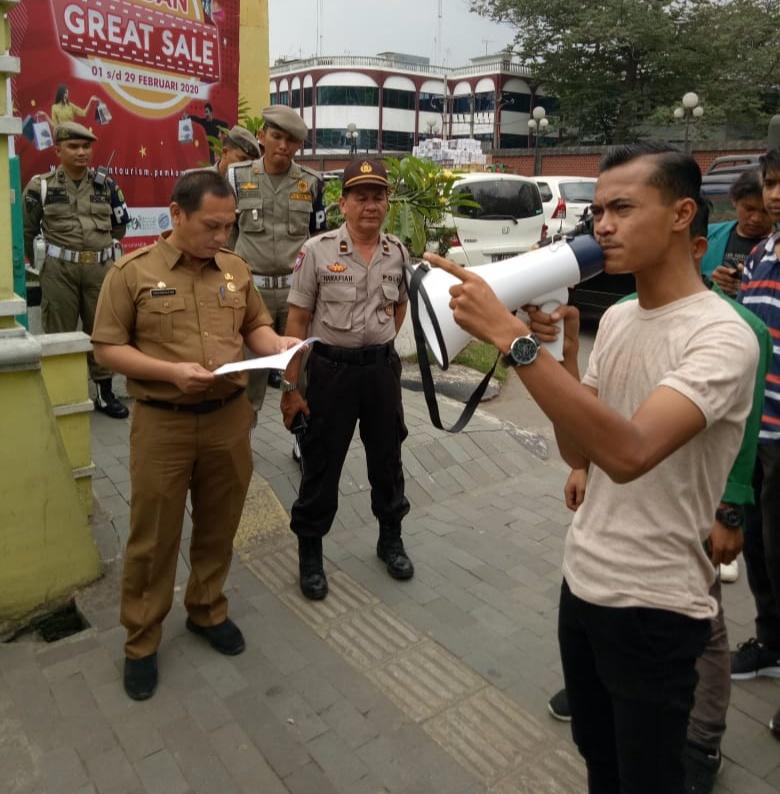 Aksi GMPS, Soal Prostitusi di Kota Medan