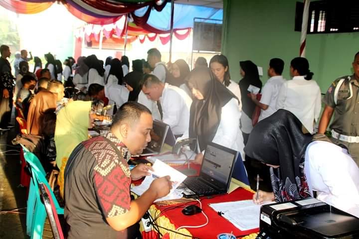 CPNS di Labuhanbatu, 951 Orang Peserta Ikuti Ujian SKD