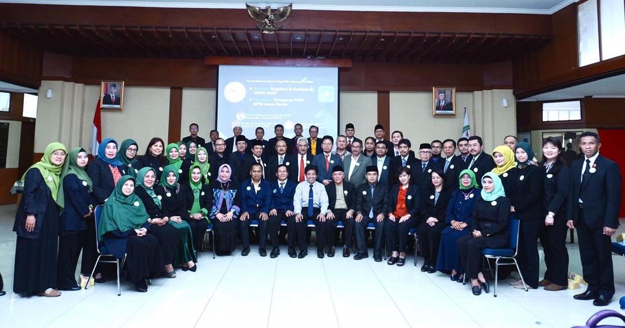 DPW PDRI Jawa Barat, Resmi Dilantik