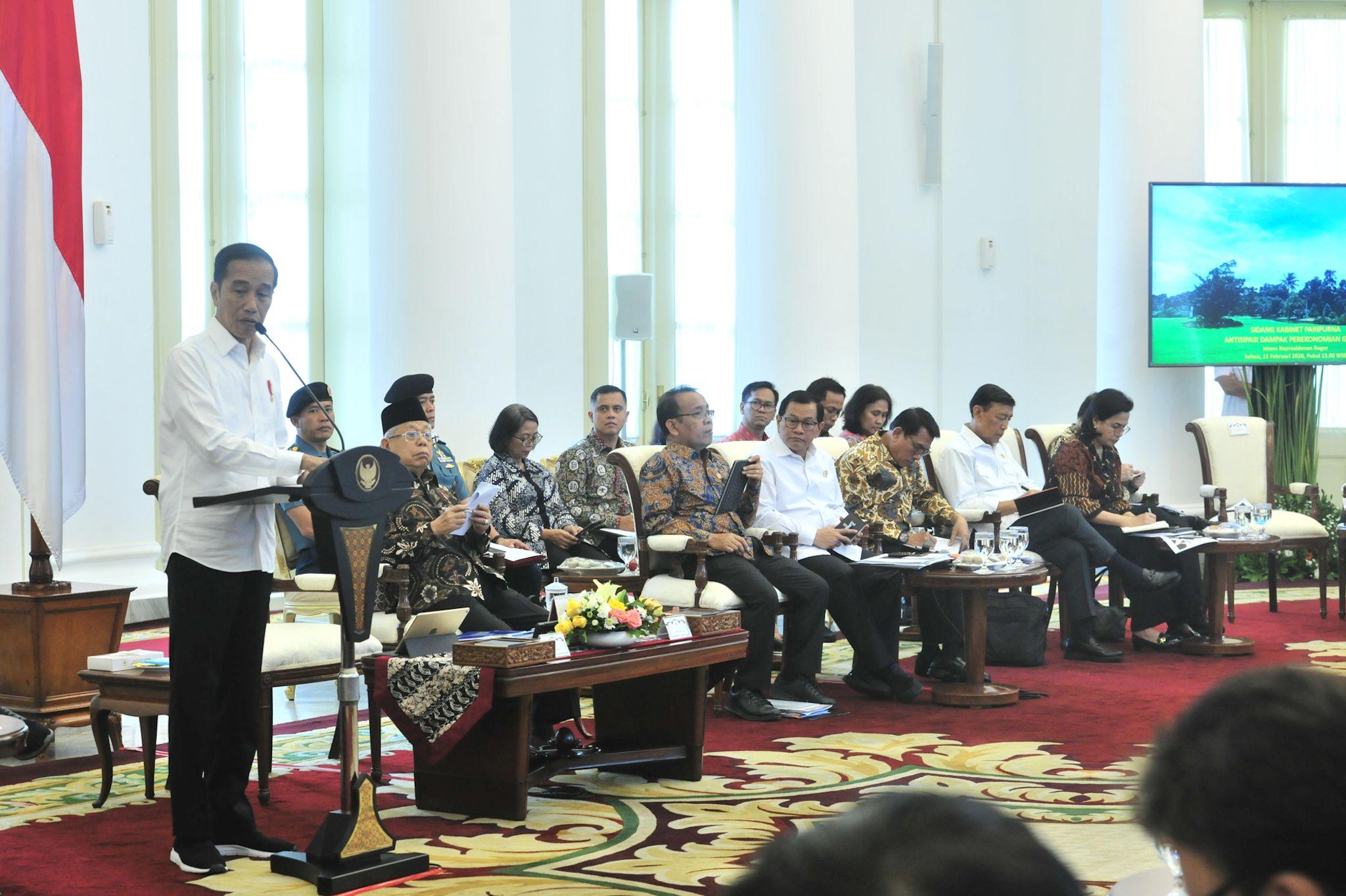 Ekonomi Global tak Bersahabat, Jokowi: Realisasi Belanja Dilakukan Secepatnya