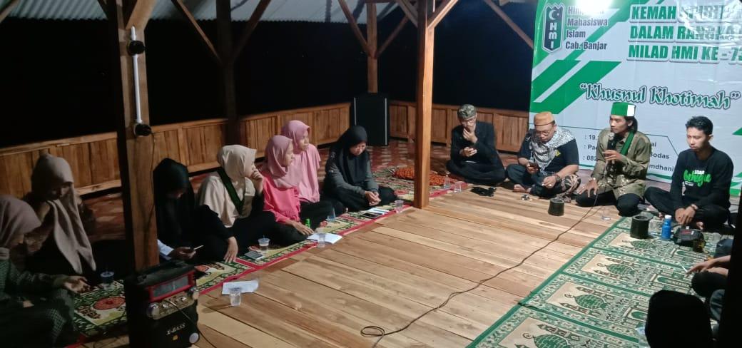 Dies Natalis HMI ke-73, HMI Banjar Selenggarakan Kemah Spiritual (2)