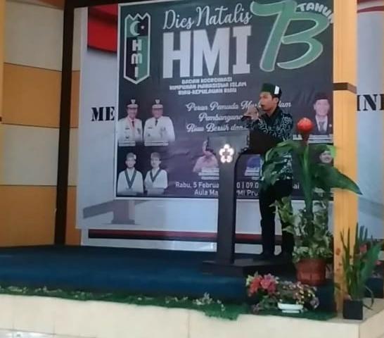 Dies Natalis HMI ke-73, HMI Riau-Kepri Adakan Talkshow (2)