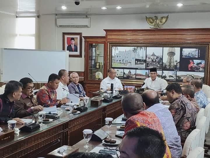 Pemko Bersama Pemprov Sumut Bangun Kawasan Heritage di Kota Medan