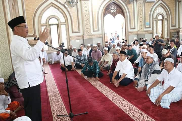 Masjid Jam'iyyatush Sholihin Tempat Belajar Shalat dan Mengaji Semasa Kecil