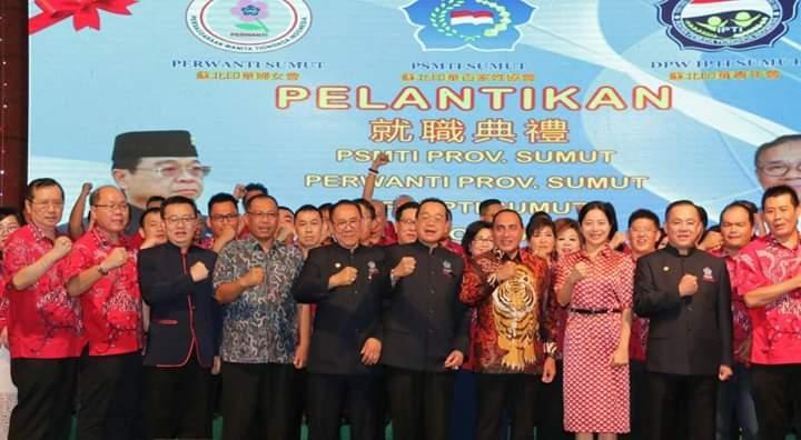Plt Walikota Medan Harapkan PSMTI Terus Bersinergi dengan Pemko Medan