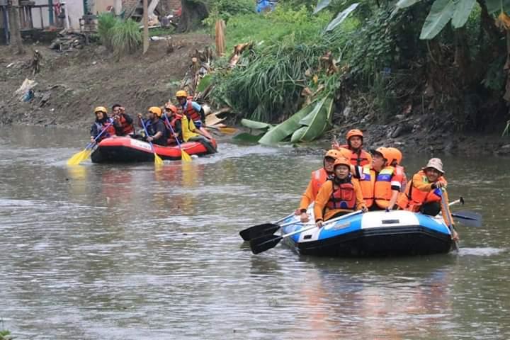 Pemko Medan Bersama Forkopimda Susur dan Bersih-bersih Sungai Deli