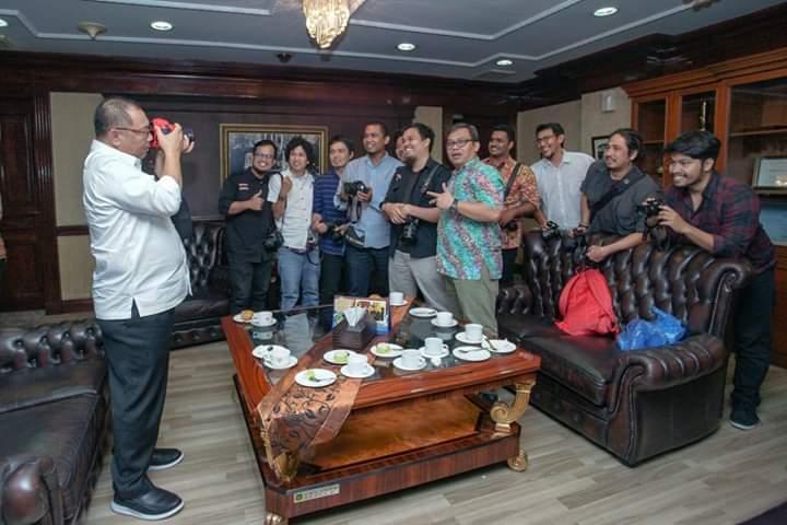 HUT PFI Medan ke-16, Ternyata Plt Wali Kota Medan juga Hobi Motret