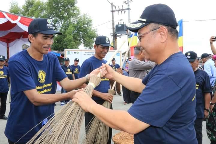 Wujudkan Belawan Bersih Sampah, DKP Kota Medan Gelar Aksi Bersih-bersih