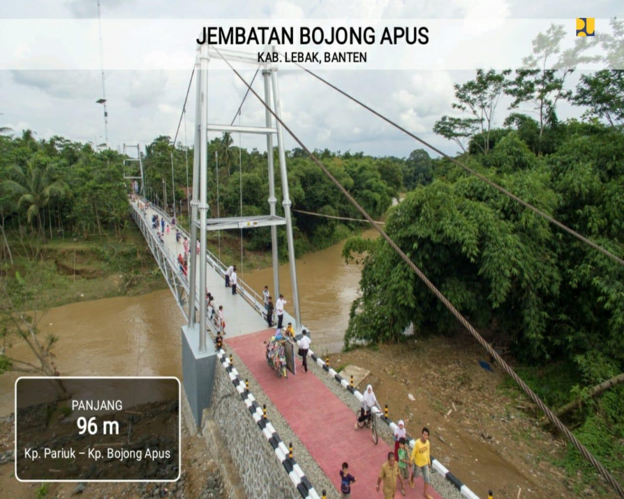 Tahun Ini, Pemerintah Akan Bangun 148 Jembatan Gantung
