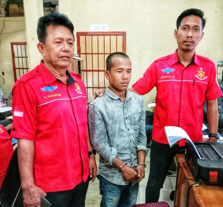 Kurir Asal Aceh Ngandang di Polres Langkat