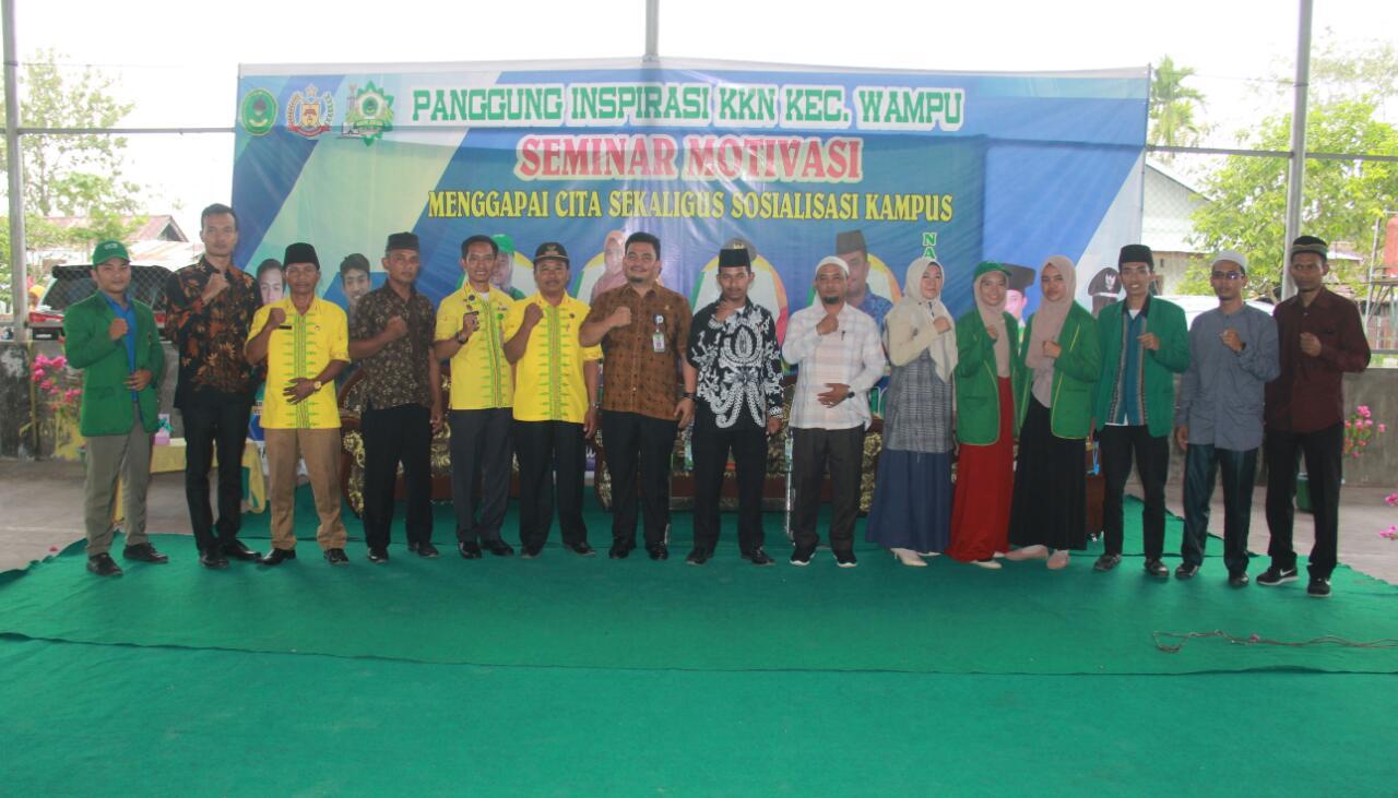 Mahasiswa STAI JM Tanjung Pura, Jadikan Momen KKN Bersejarah