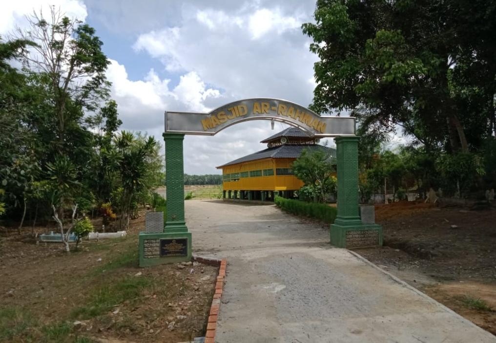 Masjid Tertua di Langkat, Masjid Jaya Ar Rahman Kejuruan Sri Amar Setia Bingai