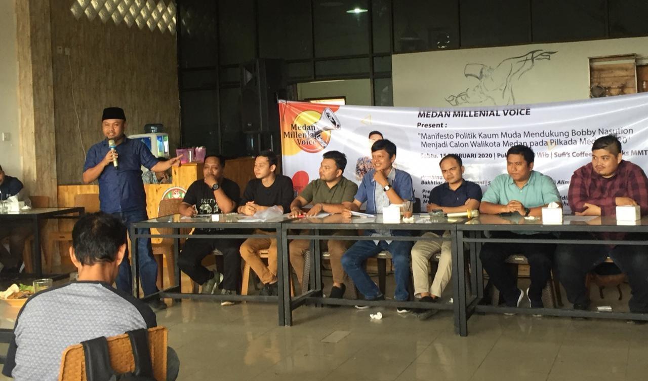 Pilkada Medan 2020, MMV Milih Bobby Nasution Daripada Ikhwan Ritonga (2)