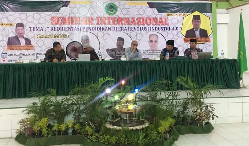 STAI JM Tanjung Pura, Hadapi Revolusi Industri 4.0 Gelar Seminar Internasional