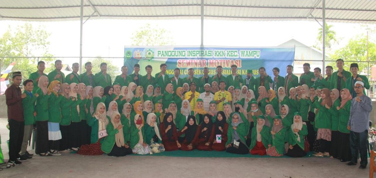 Mahasiswa STAI JM Tanjung Pura, Seminar Motivasi untuk Menggapai Cita