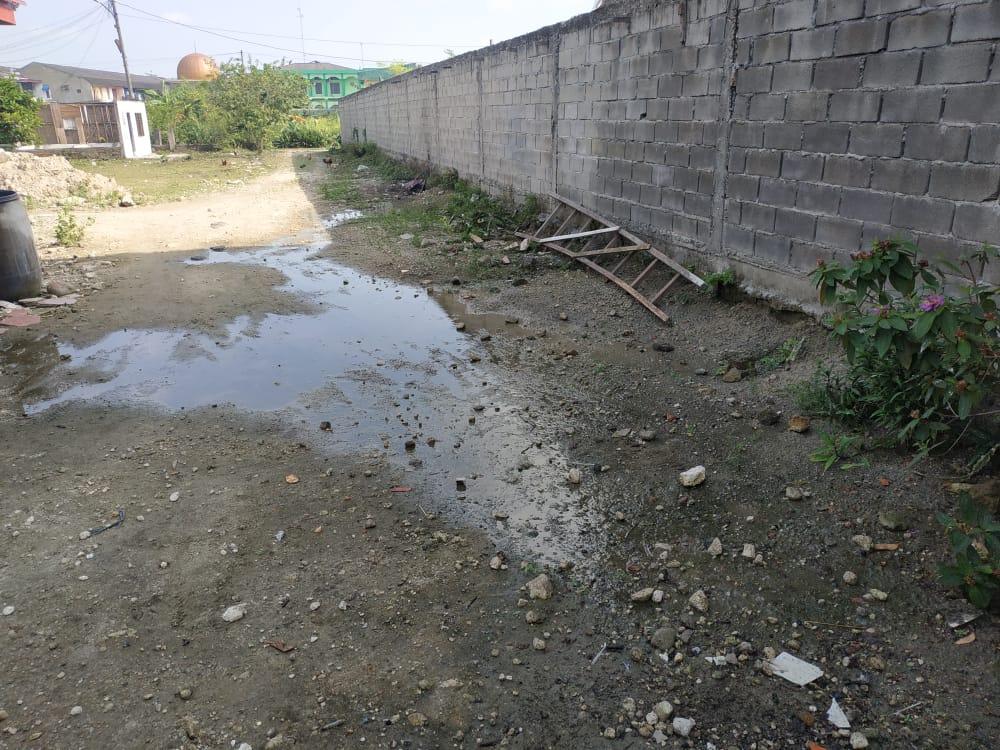 Warga Medan Sunggal, Keluhkan Limbah Air Perumahan The Canganga Residence