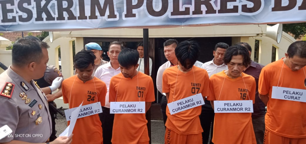 Polres Banjar, Berhasil Mengungkap Sindikat Pencurian Kendaraan Bermotor